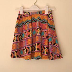 Lovers + Friends Santa Cruz Pleated Skirt
